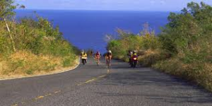 The Beat - famous hill in St. Croix 70.3 Ironman
