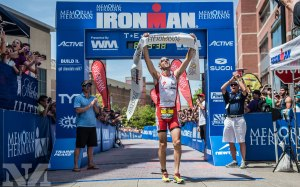 Bevan Docherty wins Ironman Texas 2014