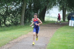 ALEX PILGRIM ON THE RUN YESTERDAY