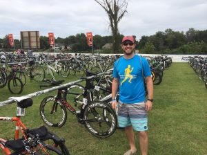 BEN WRIGHT IN TRANSITION AT AUGUSTA 2014 IRONMAN 70.3