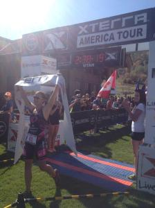 FLORA DUFFY CROSSES THE LINE IN 1ST TODAY AT XTERRA US CHAMPIONSHIPS 2014