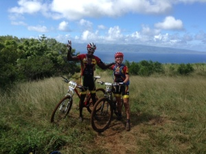 Kent Richardson and Julia Hawley at Maui