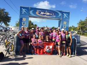 TEAM MISSFITS AT KEY WEST TRIATHLON 2014