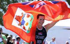 LAURIE ORCHARD TOOK BRONZE AT THE 2013 ISLAND GAMES IN BERMUDA WHILST THE TEAM OF LAURIE, MARTINA OLCHESKI-BELL AND LAURA NORMAN TOOK SILVER