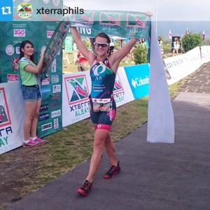 FLORA DUFFY WINNING XTERRA ALBAY, PHILLIPINES 2015