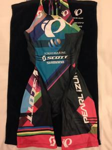 FLORA'S RACING SUIT FOR 2015