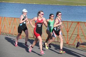 Erica Hawley at CAMTRI Sarasota Triathlon 2015