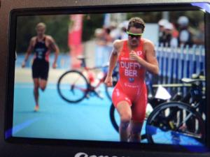 AN EXHAUSTED FLORA CROSSES THE LINE IN 5TH PLACE AT GOLD COAST WORLD CUP 2015