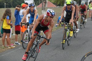 Tyler Smith shown at this month's Central American and Caribbean Junior Triathlon Champs