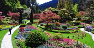 THE FAMOUS BUTCHART GARDENS - VICTORIA, BC