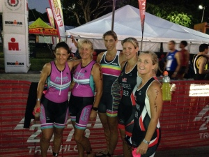 LEFT TO RIGHT : SHARON HAMMOND, TRACY NASH, CORA LEE STARZOMSKI, BELINDA CASTREE AND CAROLYN CONWAY