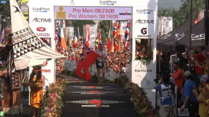 TYLER BUTTERFIELD CROSSES THE LINE TODAY IN 5TH PLACE AT THE IRONMAN WORLD CHAMPIONSHIPS 2015