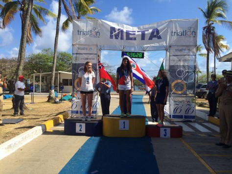 Erica medal CAMTRI 2016