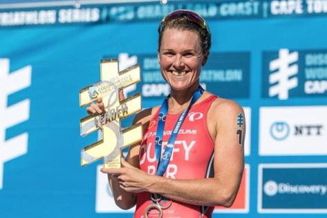 FLORA WITH ITU SERIES LEADER TROPHY