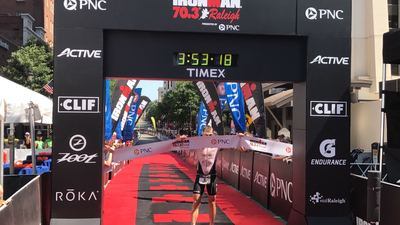 Tyler wins Raleigh 70.3