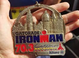 Cartagena ironman 70.3 medal