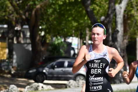 Erica Hawley CAC Triathlon 2018